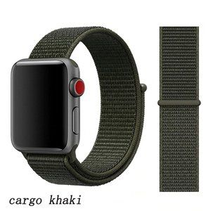 NEW[BAND] Dark Khaki Strap Loop For Apple Watch